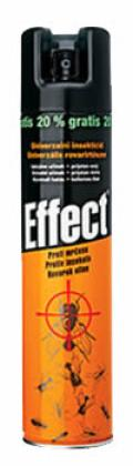 EFFECT UNI spray proti hmyzu 400 ml